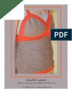 Isabella Camisole Knitting Pattern