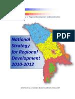 National Strategy for Regional Development 2010-2012