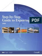 Step to Step Guide to Exporting