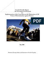 Danmarks 7 Periodiske Rapport Til CEDAW