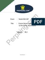 Prepking 922-097 Exam Questions