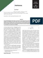 29.NanoLetters 2005 Surface Plasmon Interference