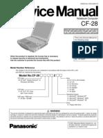 CF-28 Service Repair Manual