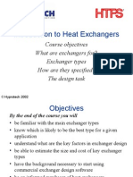 Introduction to Heat Ex Changers