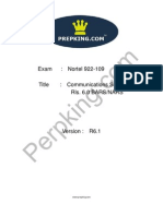 Prepking 922-109 Exam Questions