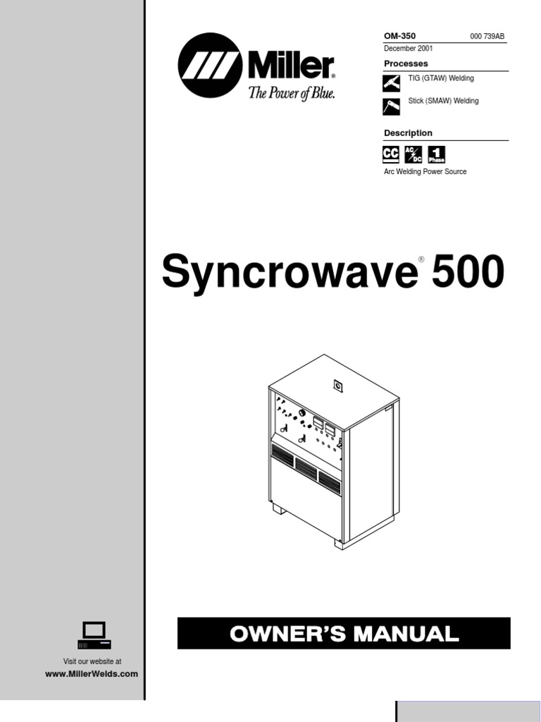 miller syncrowave 500
