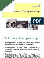 C I Foundation of Entrepreneurship