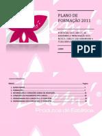 PLANO DE FORMAÇÃO LUEMI 2011