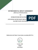 EIA Report -Special Investigation-Hydropwer Ayeyawady(Irrawaddy) bassin -engl nr.1