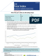 Rightmove House Price Index - July 2011 - NATIONAL