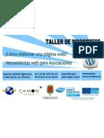 Wordpress. Taller CAMON Las Cigarreras Obra Social Caja Mediterráneo