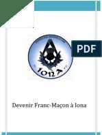 Devenir Franc-Maçon à Iona