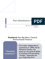 Post Globalization Scenario