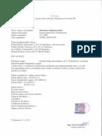 SaS - Výpis z registra strán