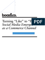 Booz -Turning_Like_to_Buy - Social Commerce