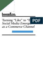 Booz -Turning_Like_to_Buy - Social Commerce