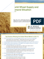 2011 July - World Wheat Supply Demand Situation