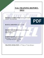 59587000 Vocational Training Report