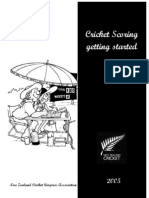 Cricket Scoring - Getting Started 2005