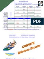 Calendário da Feira do Livro Nov2010