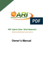ARI Tower Kit User s Manual