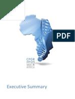 CPGR Executive Summary 2010