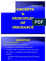 Chapter 01 - Concepts & Principles of Insurance
