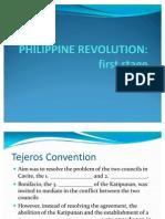 1st Stage of Philippine Revolution