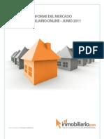 Informe del Mercado Inmobiliario Online Junio 2011