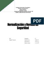 Normalización y Normas de Seguridad
