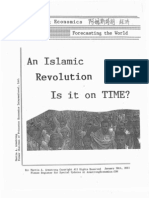 Gold Oil Projected-An Islamic Revolution is It on Time 01-30-2011