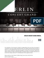 Berlin Concert Grand Manual