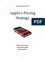 AINI 2008 Apple s Pricing Strategy