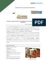 DTP Anuncia the Cursed Crusade, Summer Challenge y Mahjong 3D