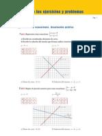 ejercicios sistemas de ecuaciones 2º eso