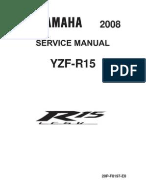 Yamaha YZF-R15 SM (English) | Internal Combustion Engine | Fuel