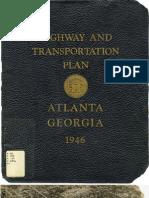 Atlanta Transportation Plan 1948