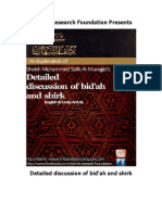 Detailed Discussion of Bidaah and Shirk