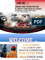 How to empower your safety committee for effective meetings and activities by Ir Daud Sulaiman