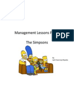 Management Lessons from The Simpsons
