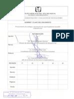 1240-003-041 Procedimiento de Entrega y Recoleccion de Ropa Hospital Aria