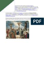 La Semana Santa es la conmemoración anual cristiana de la Pasión