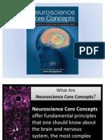 SfN Neuroscience Core Concepts Power Point