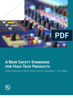A New Approach to Safety for a-V and ICT Equipment-IEC 62368-1
