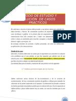 MÉTODO DE ESTUDIO Y SOLUCIÓN
