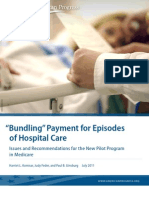"""Bundling"" Payment for Episodes of Hospital Care"