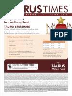 Taurus Factsheet June 2011