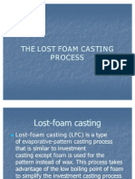 The Lost Foam Casting Process