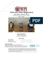 Water Meter Evaluation