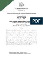 Tech Report NWU-EECS-06-09